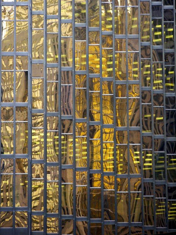 Gilded reflection, Toronto, Canada, 2009