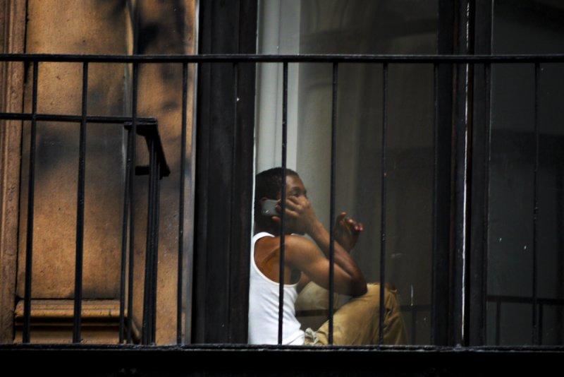 Window seat, New York City, New York, 2010