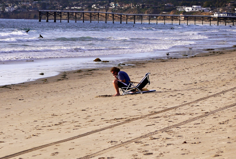Tension, Mission Beach, San Diego, California, 2010