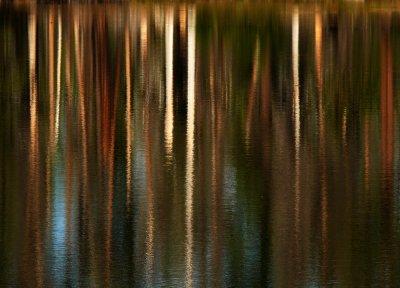 Reflection, Manzanita Lake, Lassen Volcanic National Park, California, 2008