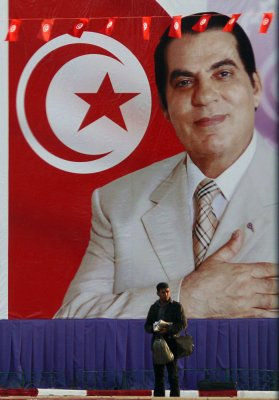 In charge, Tunis, Tunisia, 2008