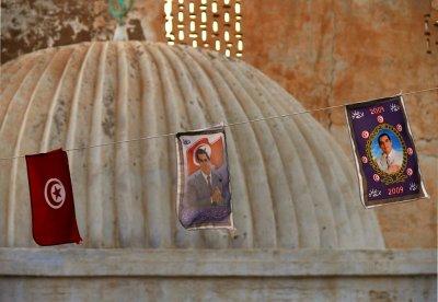 Church and state, Kairouan, Tunisia, 2008