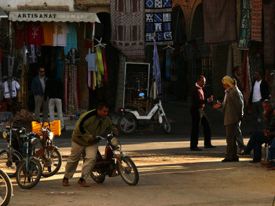 The day begins, Tozeur, Tunisia, 2008