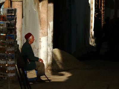 Street vendor, Tunis, Tunisia, 2008