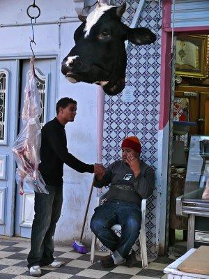 Butchers, Kairouan, Tunisia, 2008