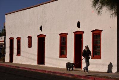 Morning walk, The Presidio District, Tucson, Arizona, 2009