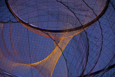 Wind sculpture, Downtown Civic Space Park, Phoenix, Arizona, 2009