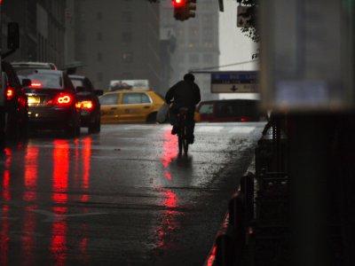 Heading west, New York City, New York, 2009