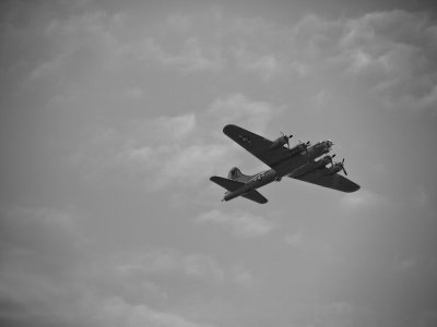 Flying Fortress over Ipswich, Massachusetts, 2009