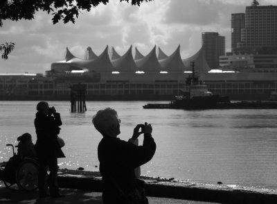 Photo-op, Stanley Park, Vancouver, Canada, 2009