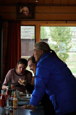Breakfast with the Dalai Lama, Stanley, Idaho, 2010