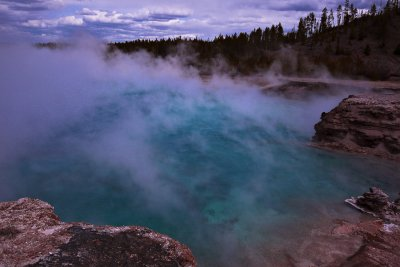 Excelsior Geyser Crater, Yellowstone National Park, 2010