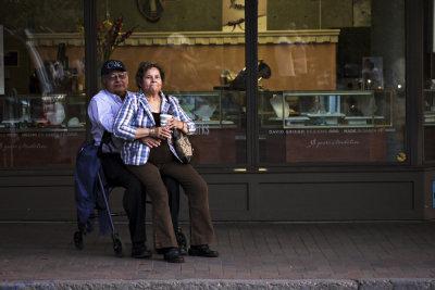 Sharing, Santa Fe, New Mexico, 2010