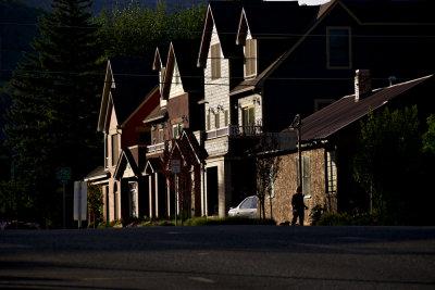 Early morning walk, Durango, Colorado, 2010