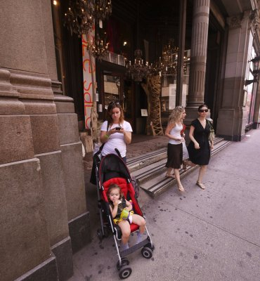 Shoppers, New York City, New York, 2010