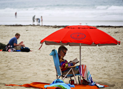 Covered, Mission Beach, San Diego, California, 2010