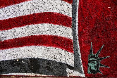 Proud paint, Mission Beach, San Diego, California, 2010