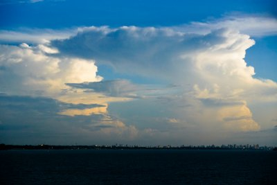 Clouds over the Amazon, Belem, Brazil, 2010
