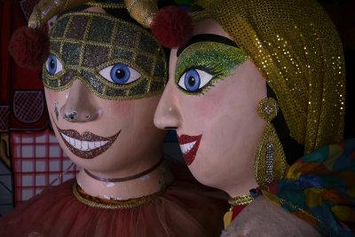 Carnival conversation, Olinda, Brazil, 2010