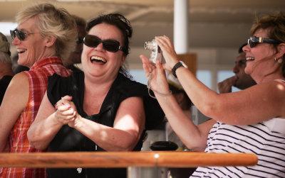 Pleasure at sea, aboard Seven Seas Mariner, off coast of Brazil, 2010