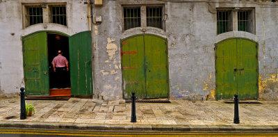 Open door, Valletta, Malta, 2011