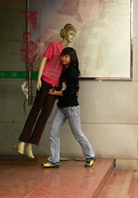 Clothing store, Guilin, China, 2006