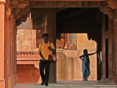 Passageway, Fatehpur Sikri, India, 2008