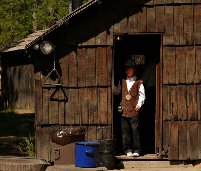 Living history, Yosemite National Park, 2008