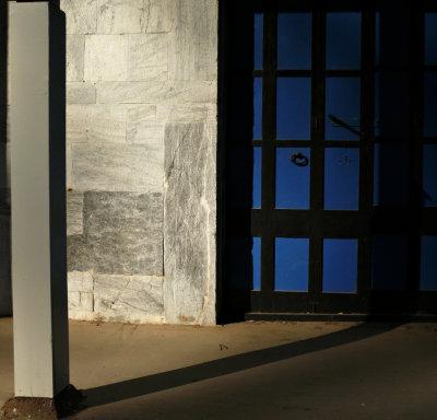 Blue door, Volcano, California, 2008