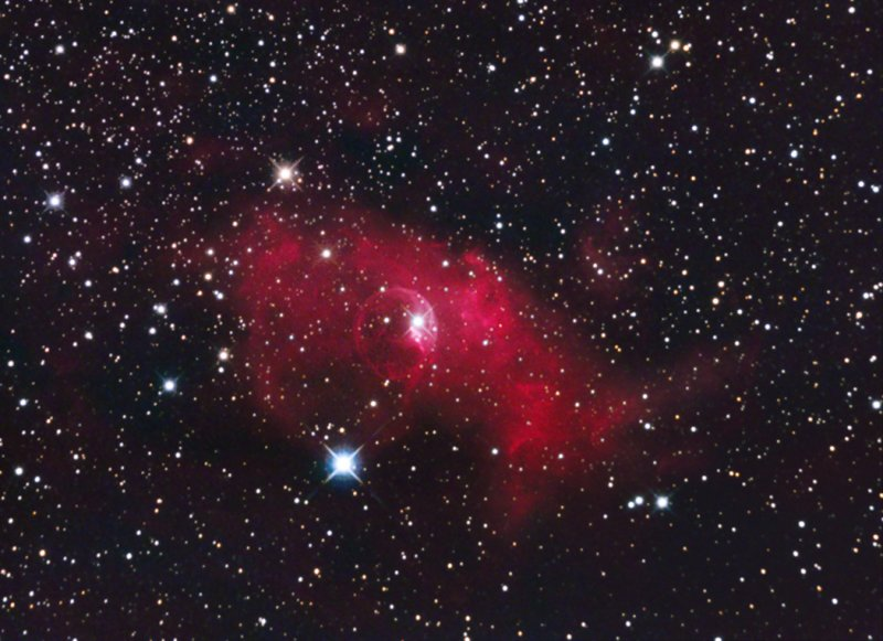 NGC 7635 - The Bubble Nebula