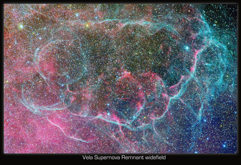 Vela Supernova Remnant widefield