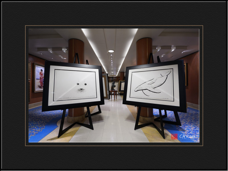 Art Gallery on the Cruise
