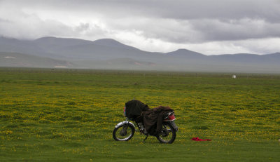 Yaks, Larks and Motorcycles...(China)