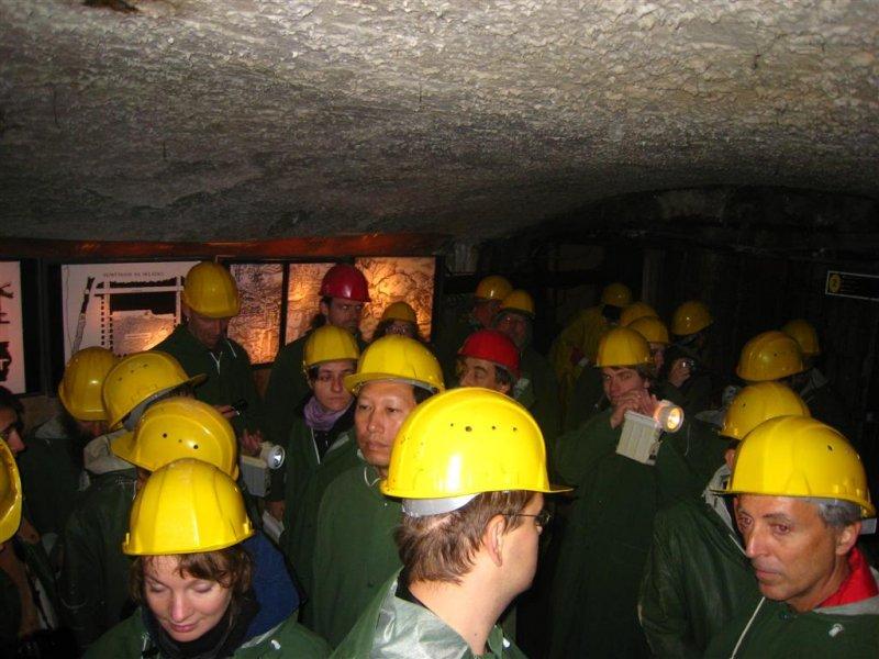 You should have no claustrofebia....