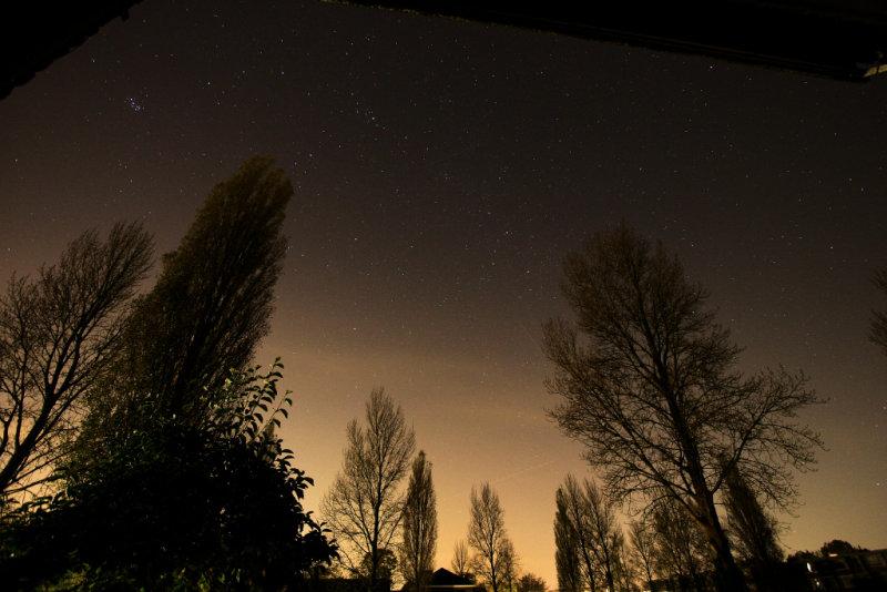 Pleiades, Perseus and Cassiopeia - 23 oktober 2008