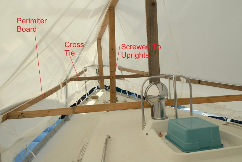What Is The Best Way To Tarp A Sailboat For Winter Page
