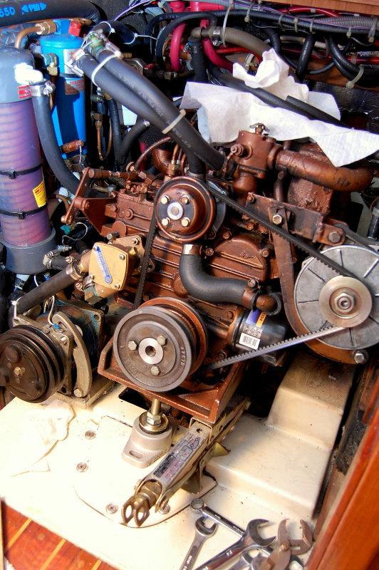 Cramped Engine Room