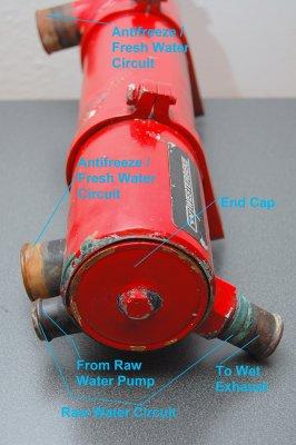 Autopsy A Westerbeke Universal Marine Heat Exchanger
