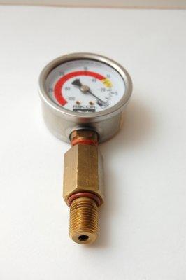 Install New T-Handle Gasket (Or Vacuum Gauge Adapter)