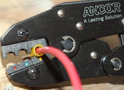 Making An Insulated Terminal Connection