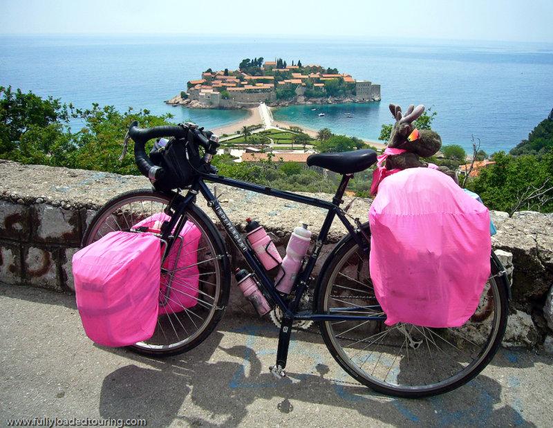 293  Alison - Touring Montenegro - Independent Fabrication Independence touring bike