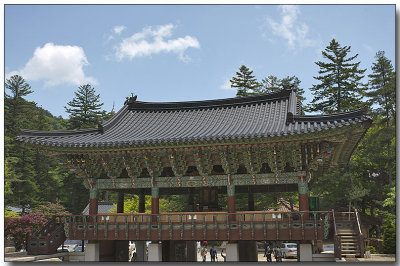 Wolijeongsa Temple entrance gate