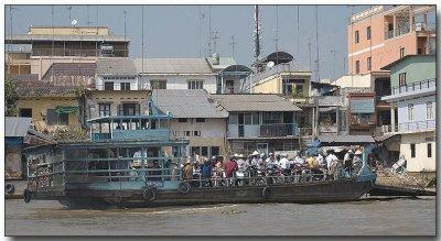 People Ferry - Floating Market