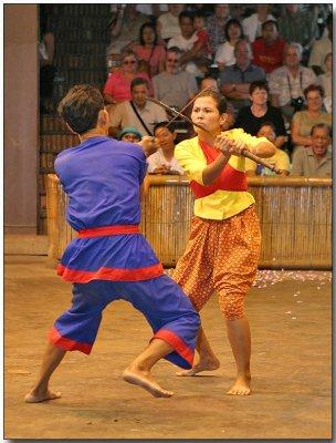 Thai Martial Arts - Krabi-Krabong, the sword fight