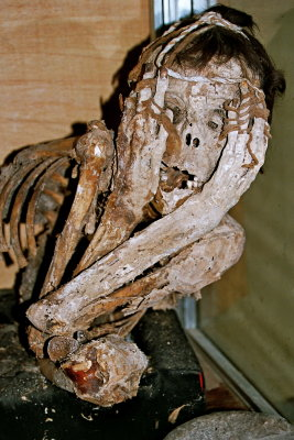 Chachapoya mummy found in Uchucmarca area