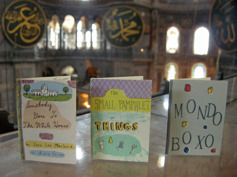 Three Small Books visit the Aya Sophia in June of 2010