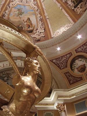 Venetian Hotel lobby