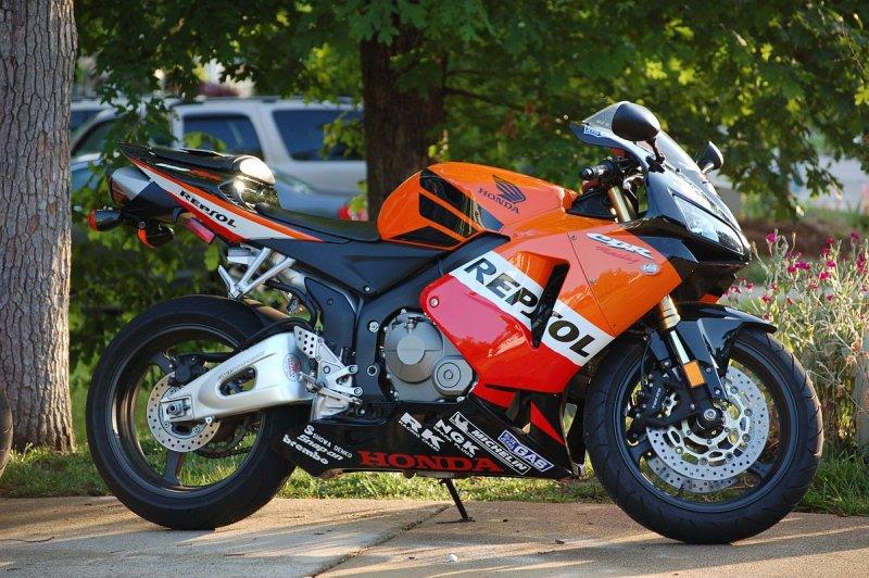 2005 Honda Cbr600rr Repsol Female Owner Rider 5100