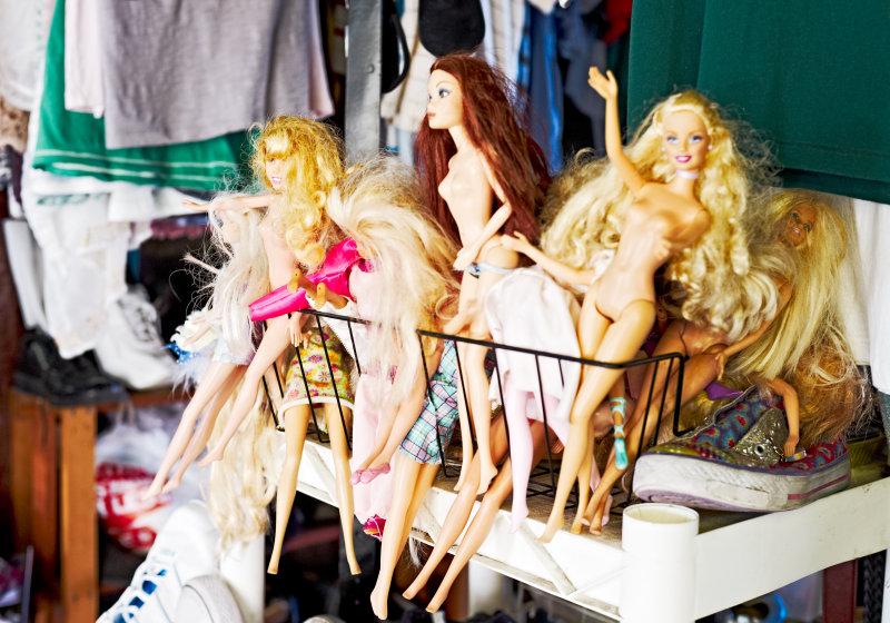Common Market Barbie gaggle