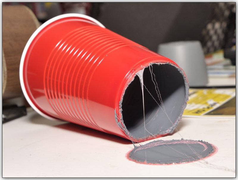 Red Solo Cup Trash Can Red Solo Cup Trash Can